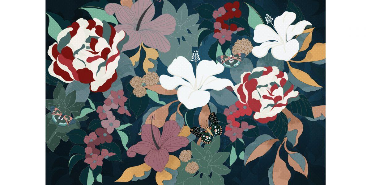 04 My fantasy garden color