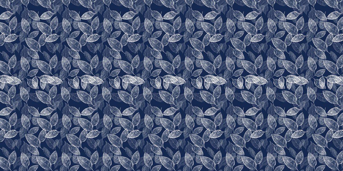 05 A Foglie blu