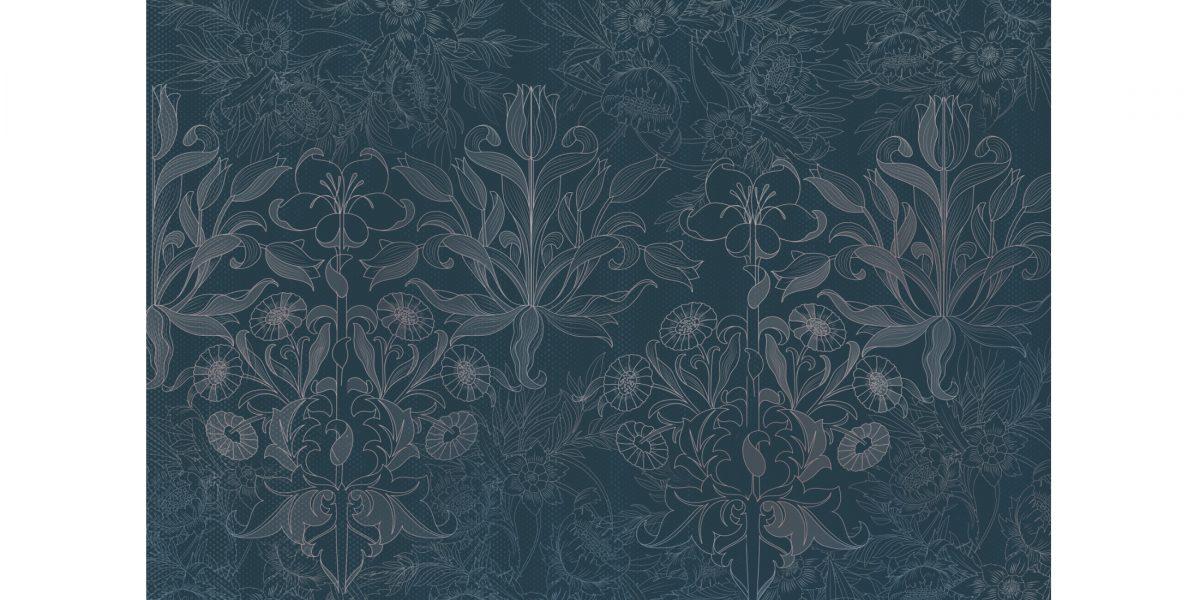 05 Flower fantasy blue
